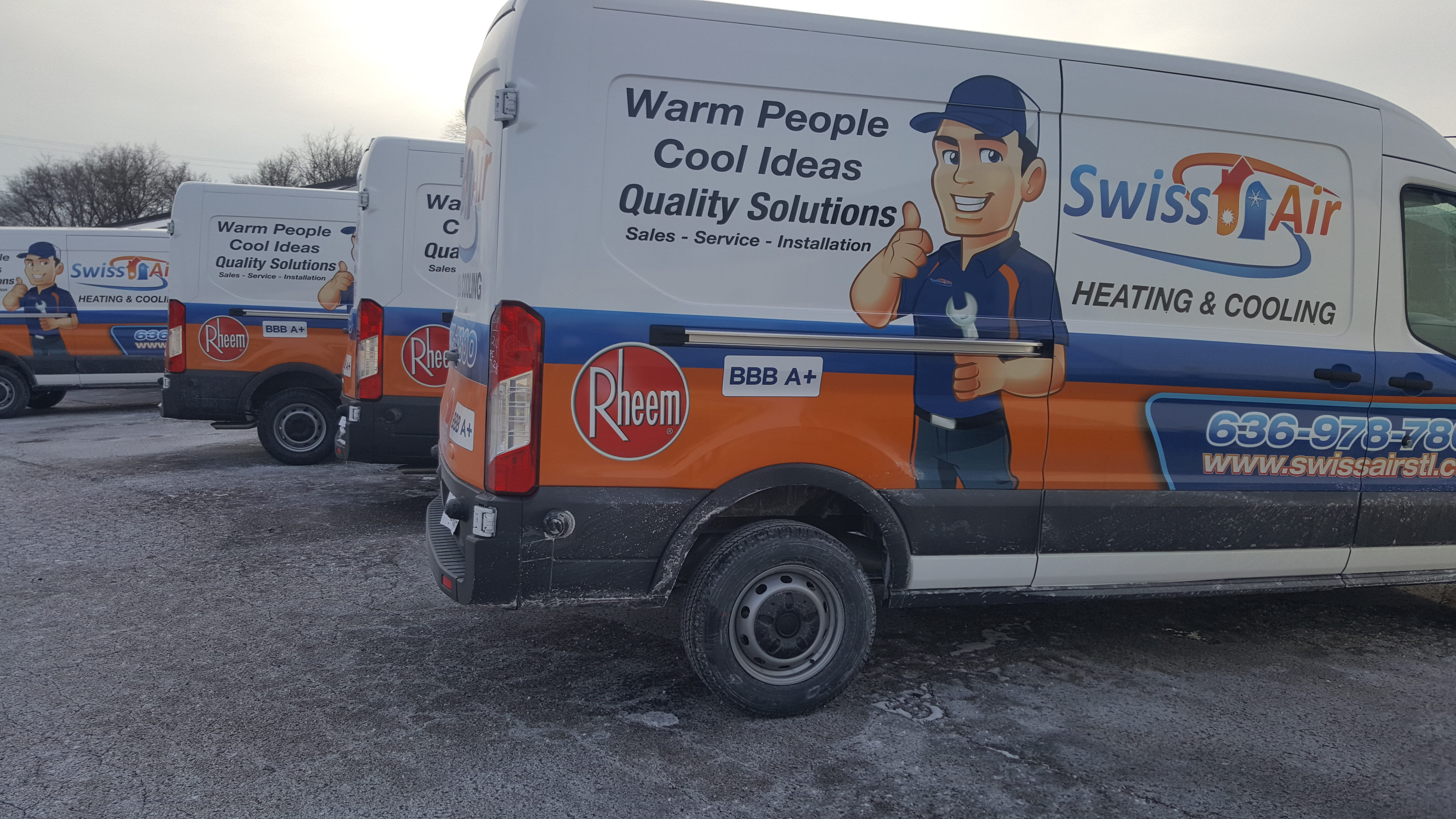 Swiss Air Heating and Cooling, O'Fallon, MO Jobs